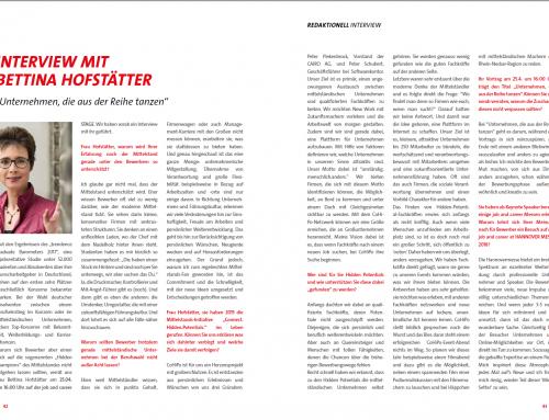 Interview Hannovermesse job & career